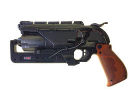 Bladerunner Tribute Hammershot left side view by VimFuego2000