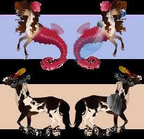 Character Adopts (CLOSED) by Muertia-Adopts