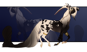 Equine Character Adopt (Sold) by Muertia-Adopts