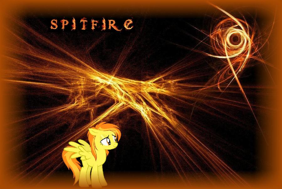 Spitfire Wallpaper by AbsentParachute