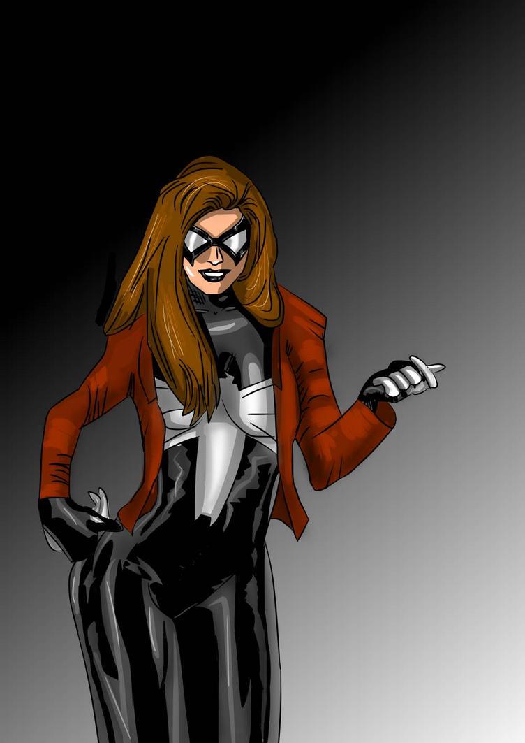 Ultimate black widow marvel