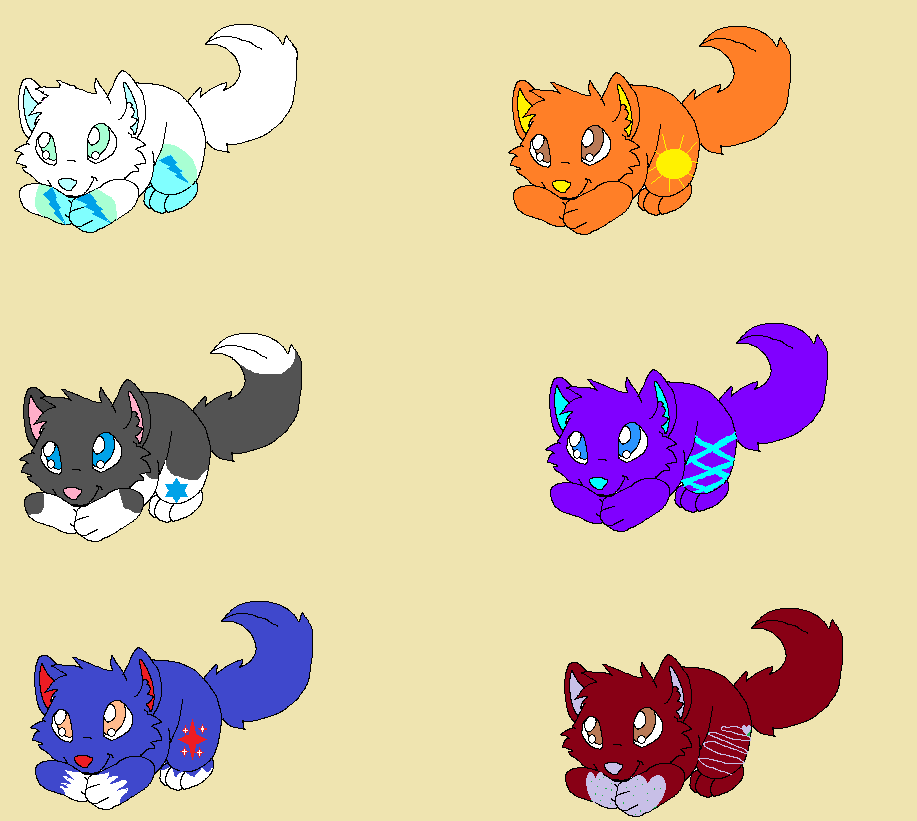Kitten Adoptables by Chyrstal-Empire-101