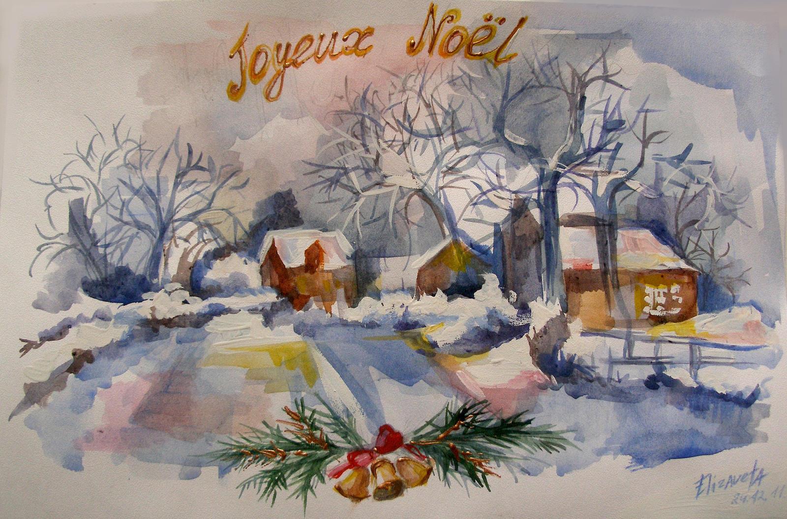 Joyeux Noel by KapustinaElizaveta
