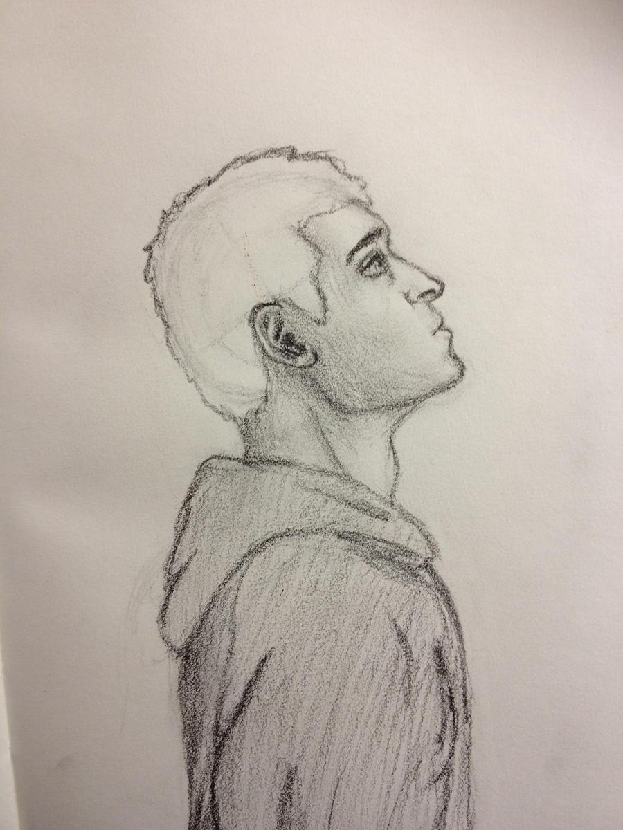 Side Profile Sketch By Tay41 On Deviantart