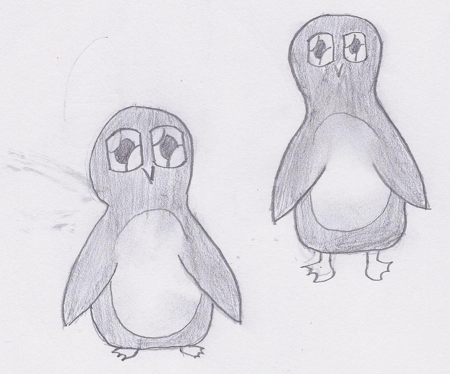 penguins by theBlackCat113