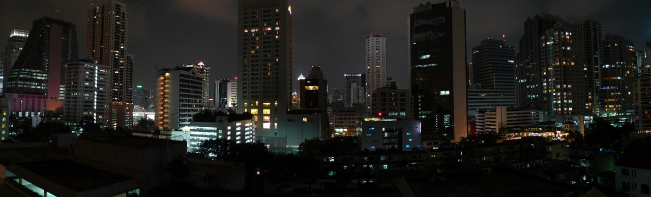 bangkok, sukhumvit cityscape