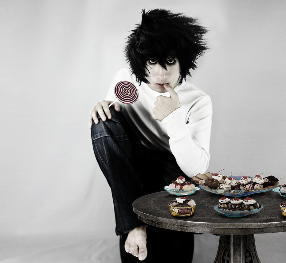 cosplay L Lawliet by  L Cosplay