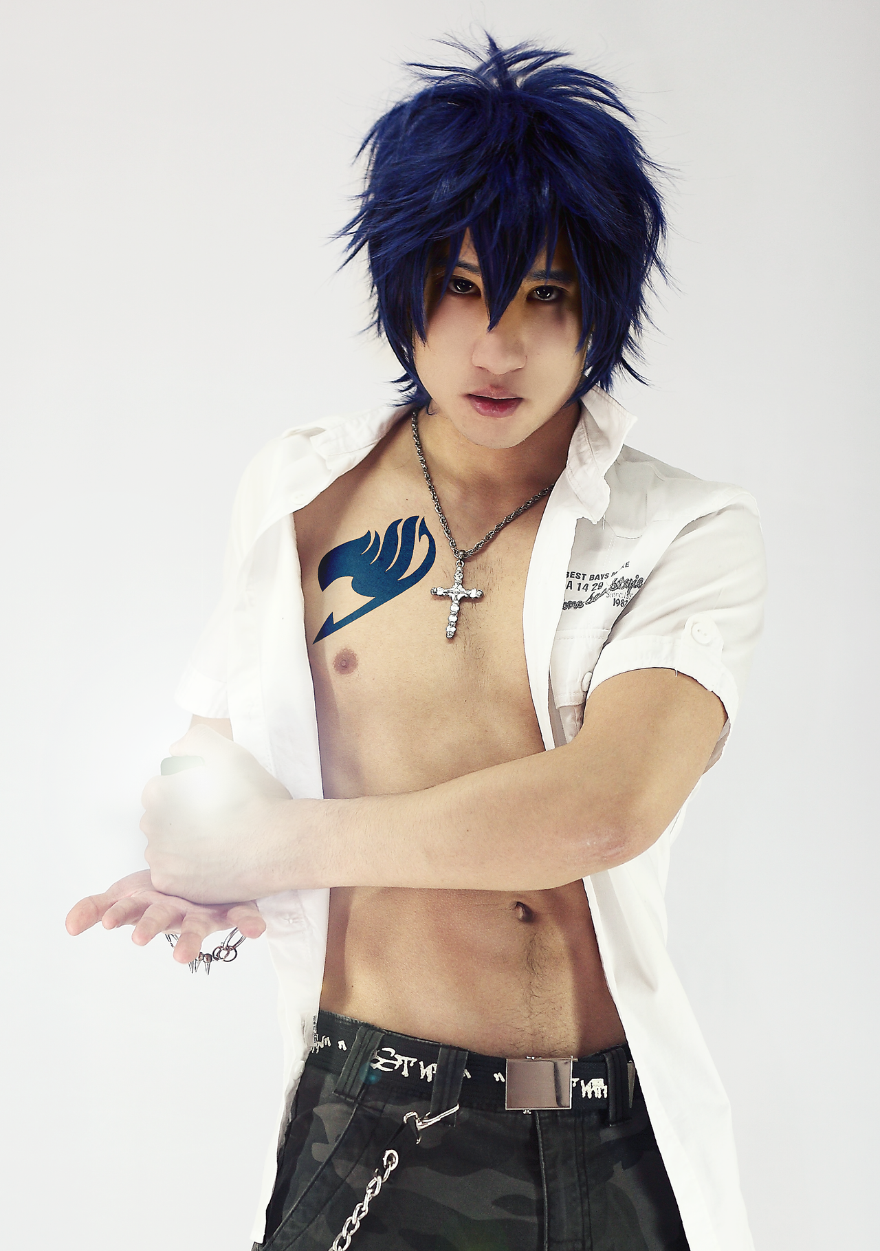 cosplay Gray fullbuster by sochouquette on DeviantArt