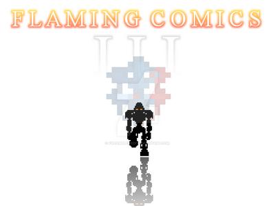 Flaming Comics III Poster by FireEmblemBZP