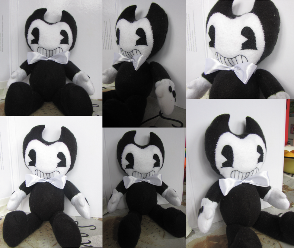 Bendy Plush Bendy And The Pictures to Pin on Pinterest ...