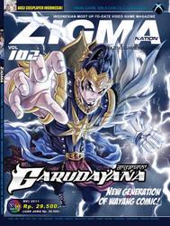 Gatotkaca Cover ZIGMA mei 2011