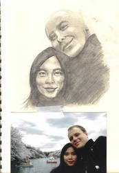 Portrait WIP by gtgauvin