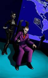 Supervillain Self-Portrait by gtgauvin