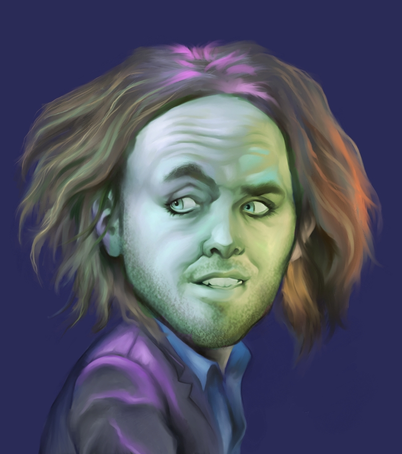 Caricature- Tim Minchin by gtgauvin