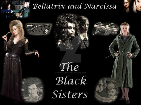 Bellatrix and Narcissa by alittlegrim on DeviantArt