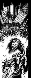 Lurching Mutation   [B+W] by J-ROZEN-COMICS