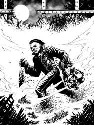 Michael Myers - Halloween by J-ROZEN-COMICS