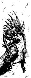 Brain Food [B+W] by J-ROZEN-COMICS