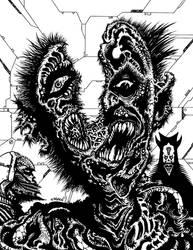 Omnipotent Orders Of Death [B+W] by J-ROZEN-COMICS