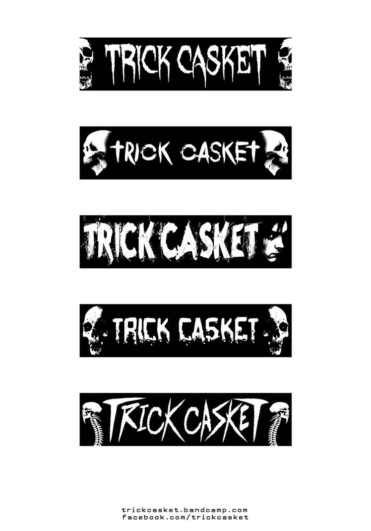 Trick Casket - Promo 2 - Stickers by J-ROZEN-COMICS