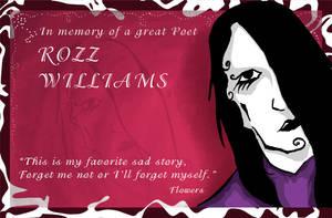 Rozz Williams by AmokDreams