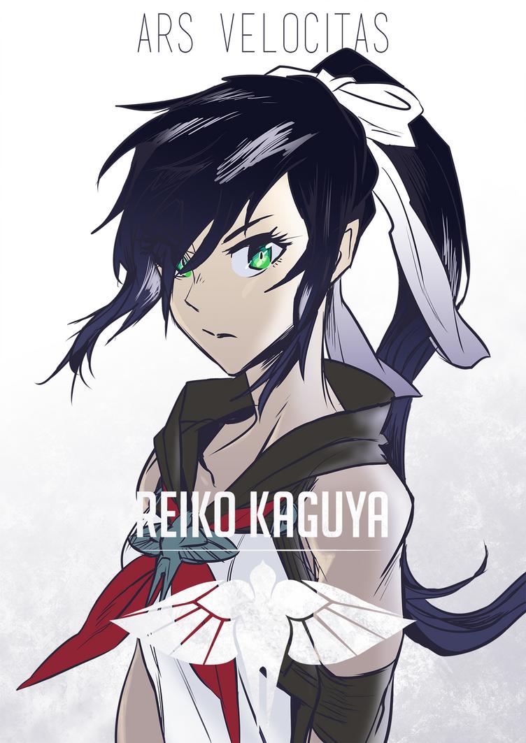 Reiko Kaguya by AaronKTJ