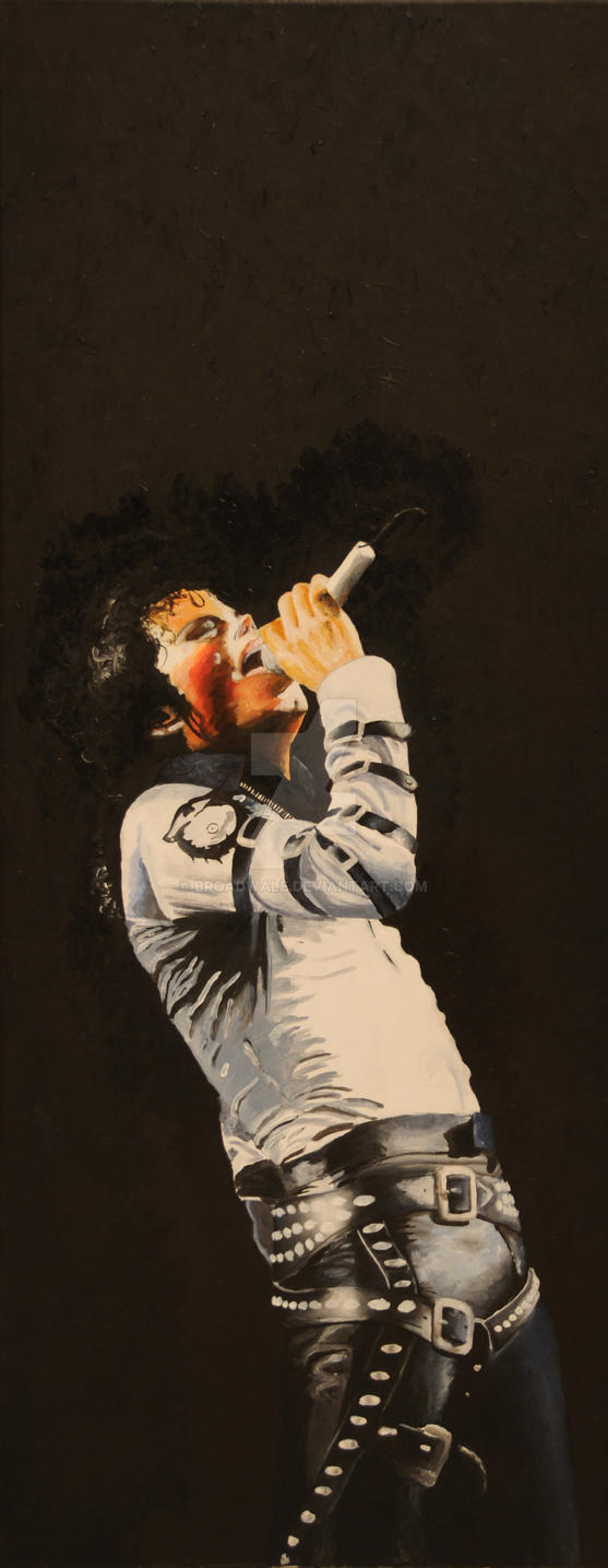 Michael Jackson Oil Painting