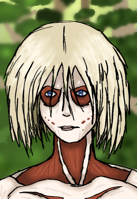 Female Titan by Spirit-of-Fangirlism
