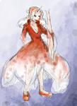 Pokemon: Goldeen Gijinka