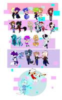 Chibi army by Xx-bunny-girl-xX