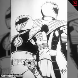 DED_Green - White Ranger