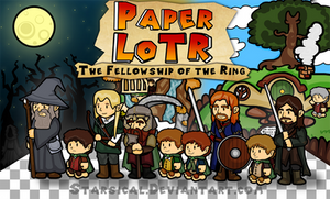 Paper Lord of The Rings