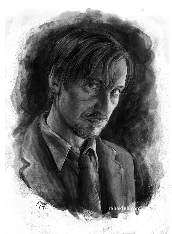 Remus Lupin by rebekieb