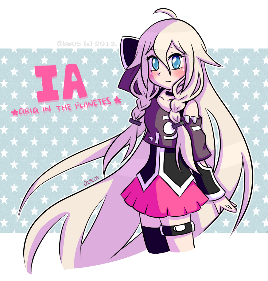 Crypton vocaloid append ia