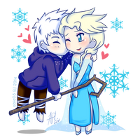 JELSA: A Kiss for the Queen by Abie05
