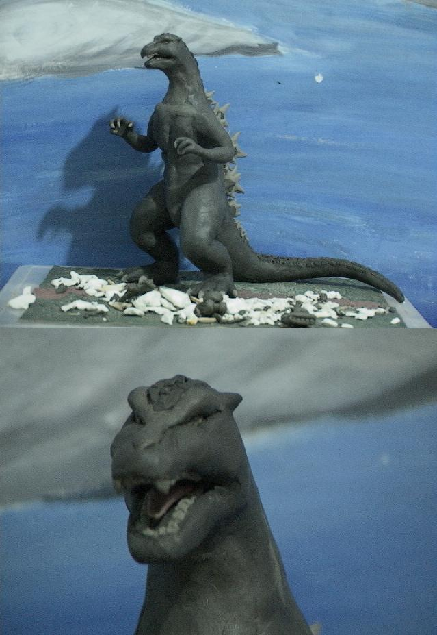 Godzilla ClayMax v2 by SeanSumagaysay