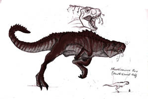 Mortissaurus Rex Colored by SeanSumagaysay