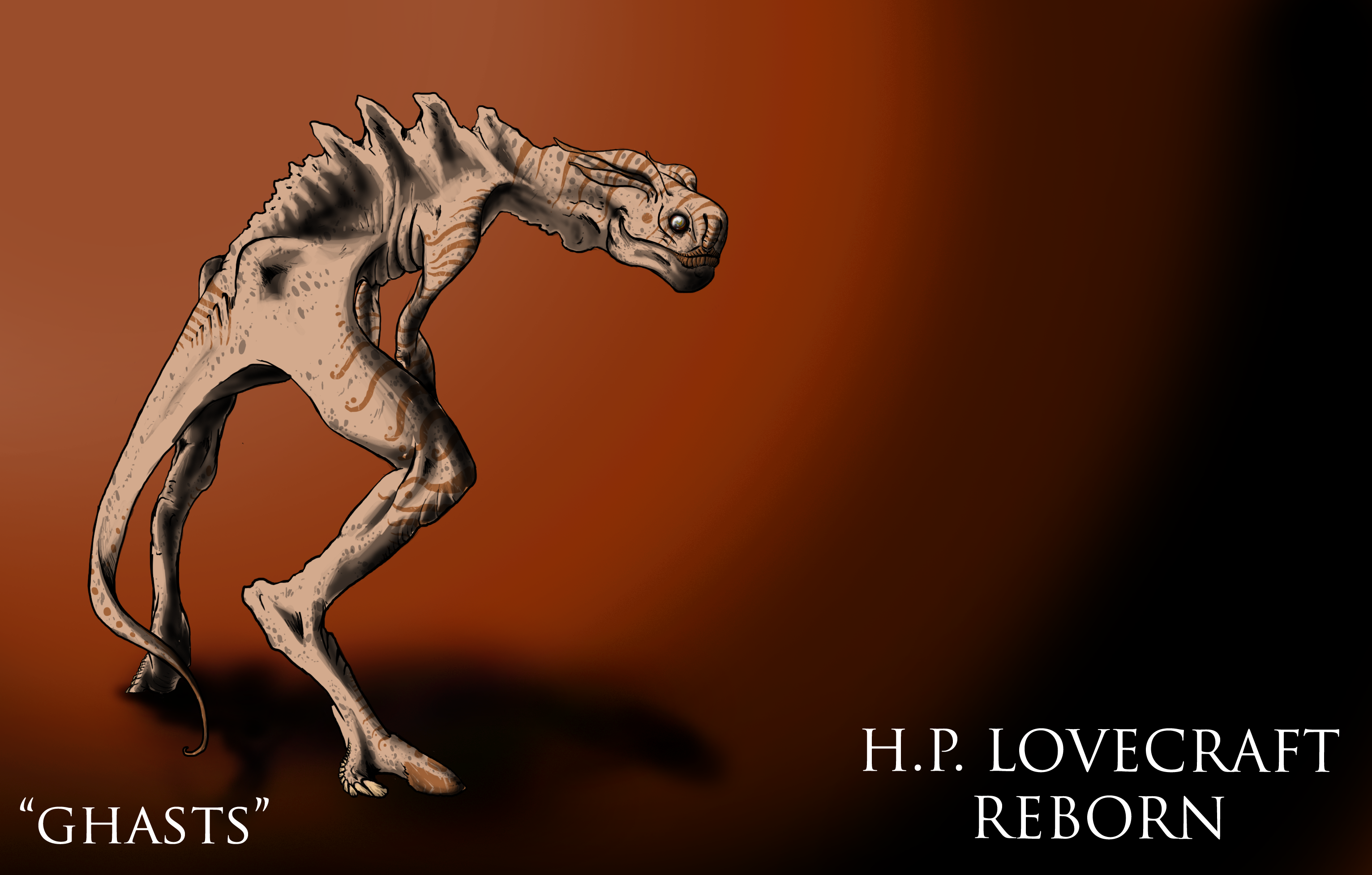 lovecraft reborn quotghastsquot by seansumagaysay on deviantart