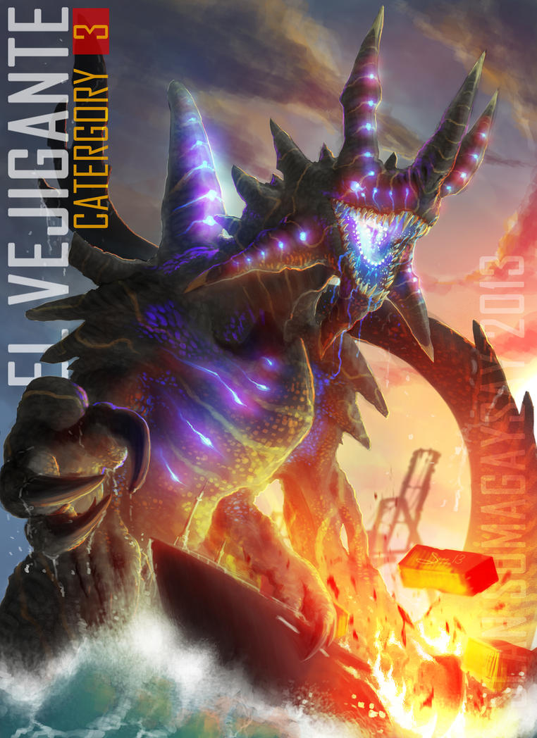 Original Pacific Rim Kaiju: ''El VEJIGANTE'' by ... Pacific Rim Kaiju Category 7