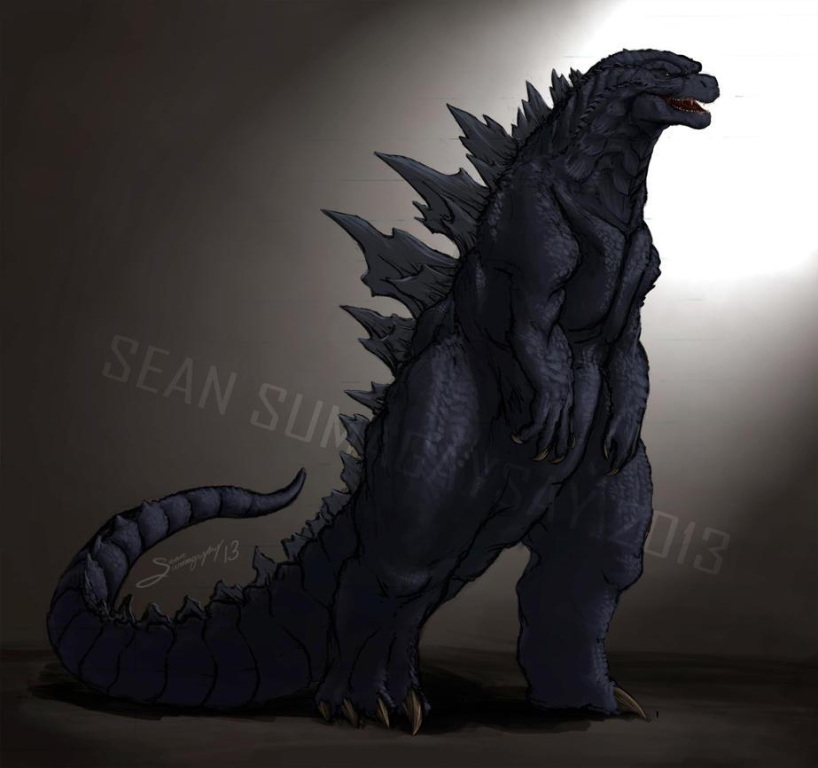 Godzilla 2014: The King Returns by SeanSumagaysay