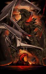 GODZILLA: 60th Anniversary Poster by SeanSumagaysay