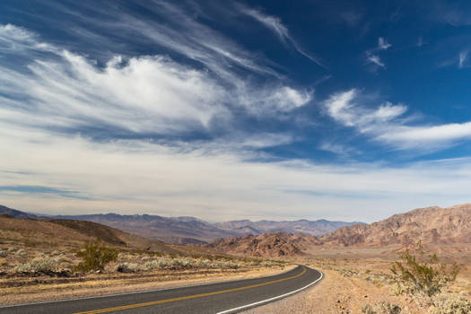 Jubilee Pass to Death Valley