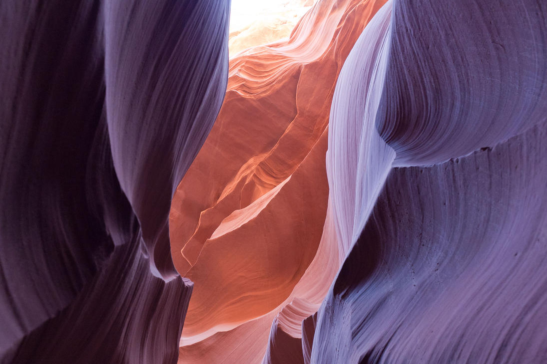 Antelope Canyon Colors by kopfwiesieb