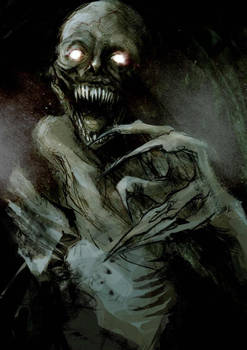 Demon under your bed.
