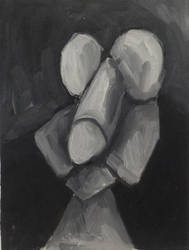 Untitled, 23 x 31cm, oil on canvas by Jacklicheukman