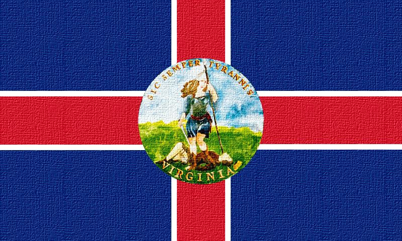 Republic of Virginia Flag II by Emperor-Norton-I