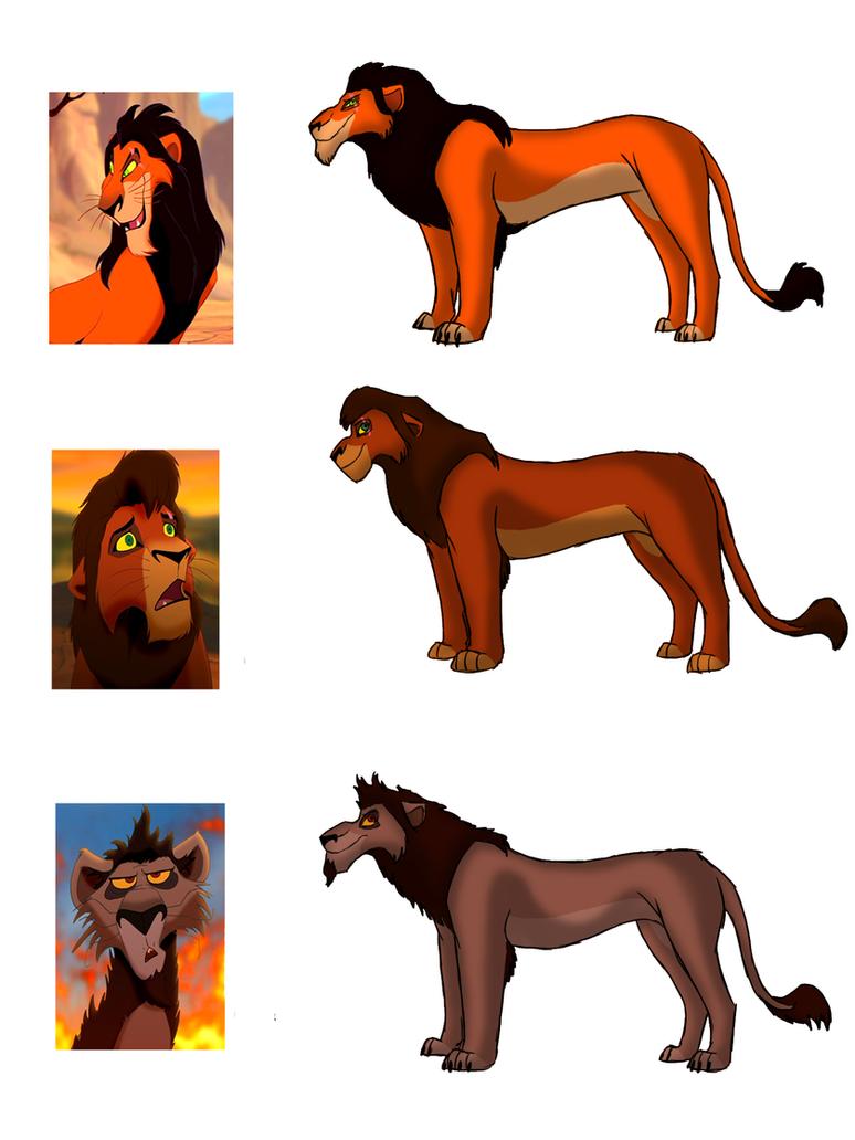 Lion king nuka and kovu