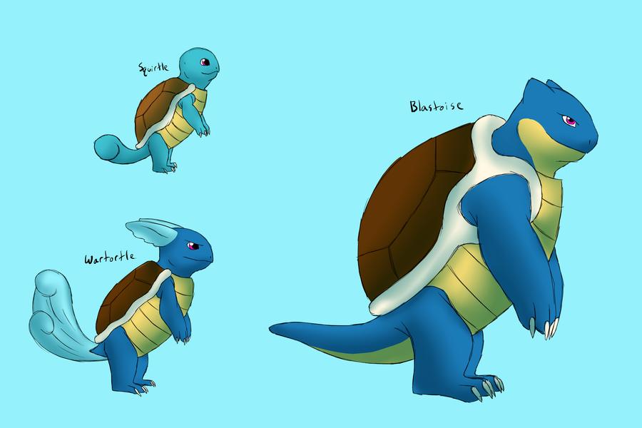 Squirtle Evolution Chain Pokemon Squirtle Evolu...