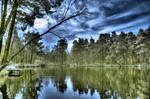 Infrared HDR Lake