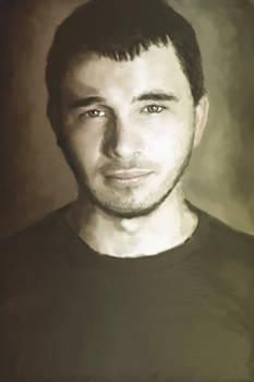Israel Painted Portrait